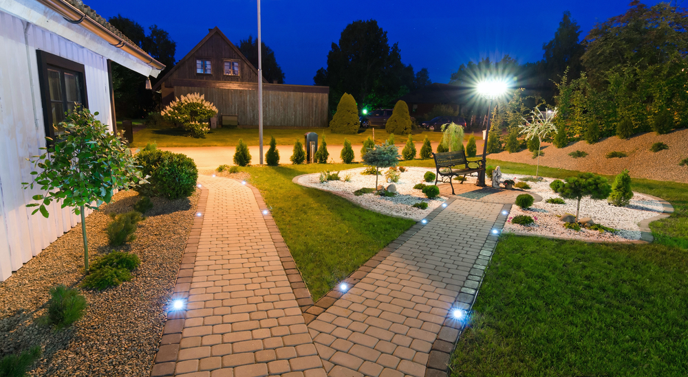 led garden lights - Garden Lighting